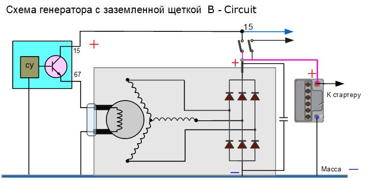 Схема генератора копейки